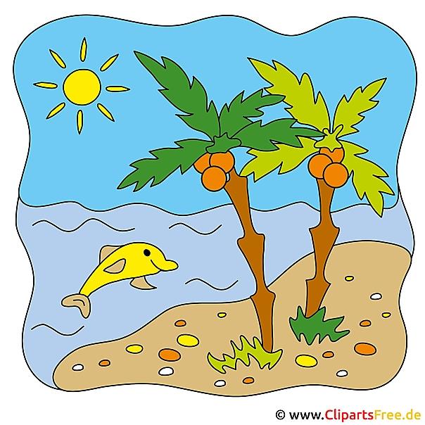 Palm Clipart - Zomerafbeeldingen gratis