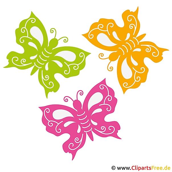 Butterflies picture - summer pictures gratis