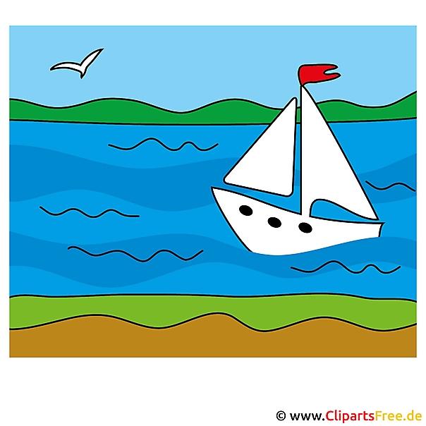 Zeilschip Clip Art - royalty-vrije en zomer gratis afbeeldingen