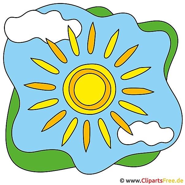 sonne cartoon clip art free