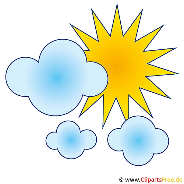 Wolken illustraties gratis