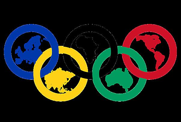 2021 Olympische Ringe mit Kontinenten Bedeutung