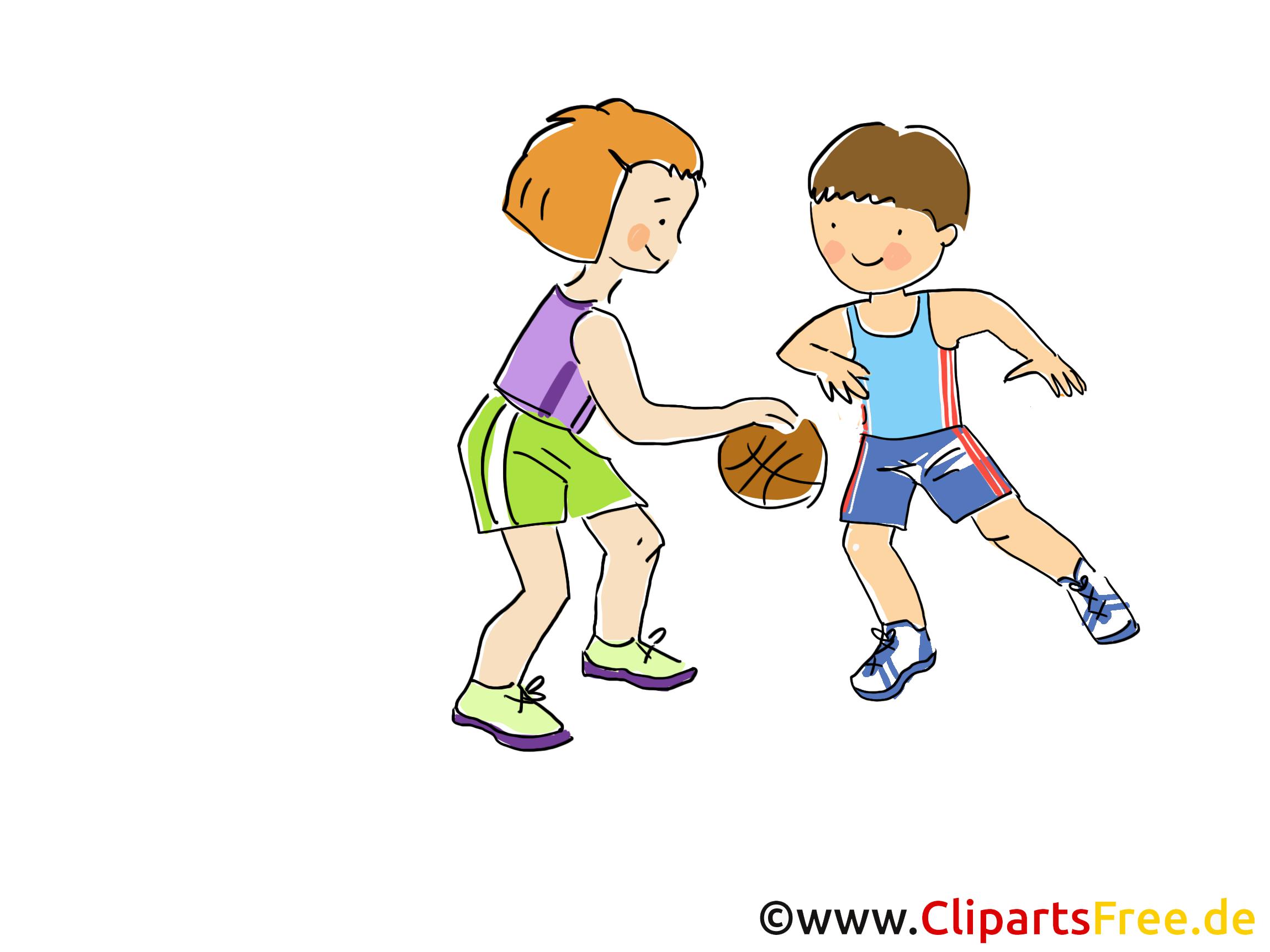 Basketbalafbeelding, Clipart, Comic, Cartoon, Afbeelding gratis