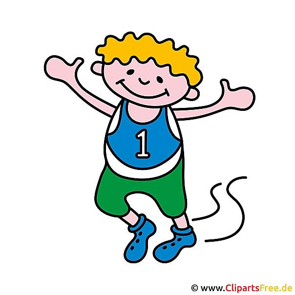 Kinder Beim Sport Clipart