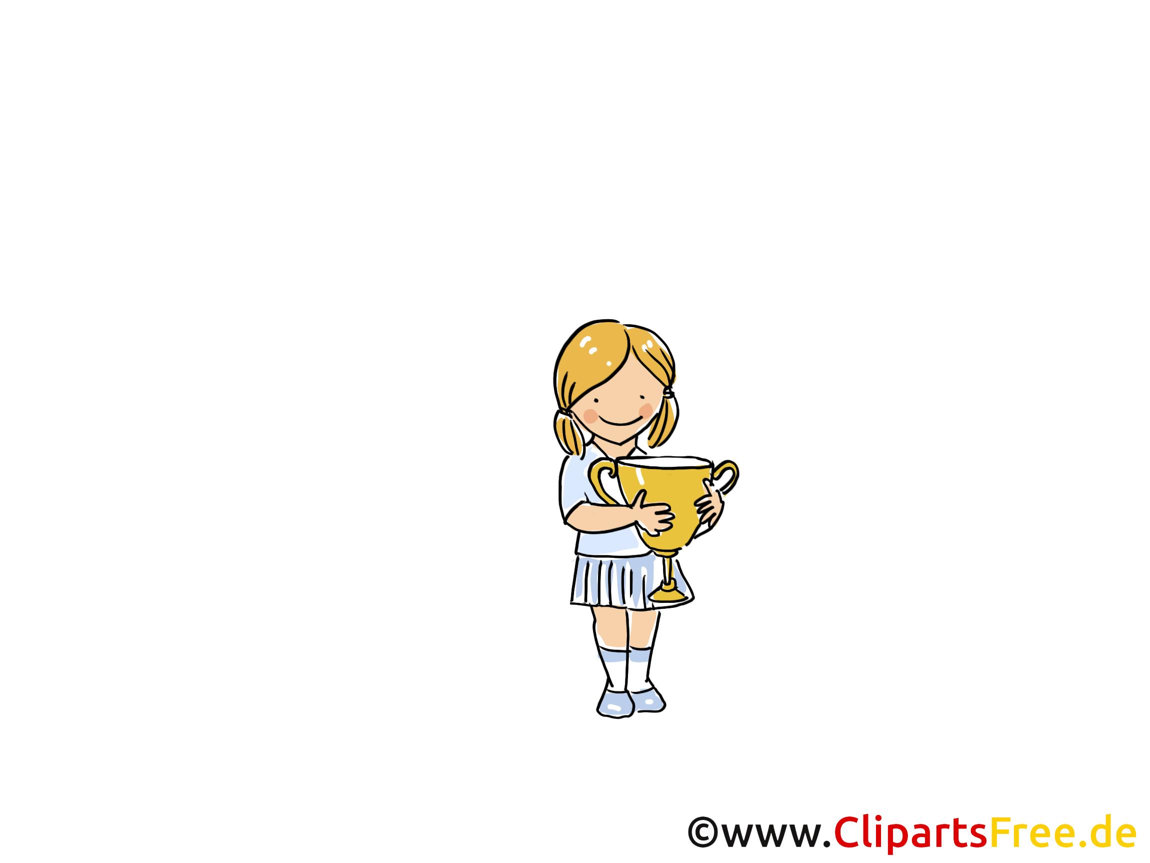 Cup afbeelding, Sport Clipart, Cartoon, Cartoon, Afbeelding gratis
