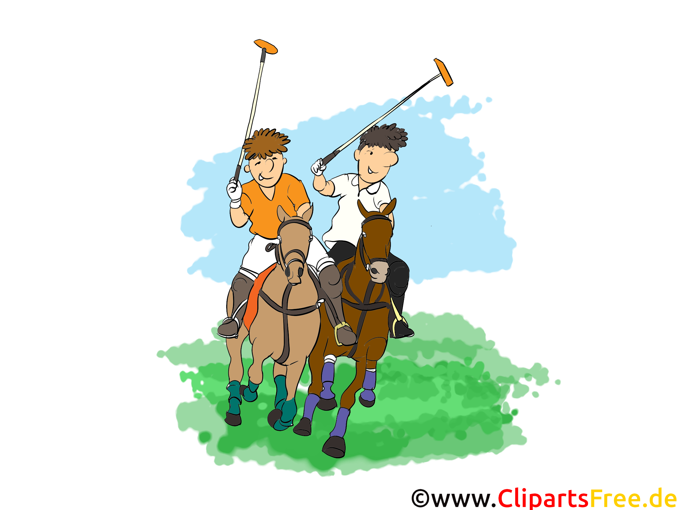 Polo-illustratie gratis