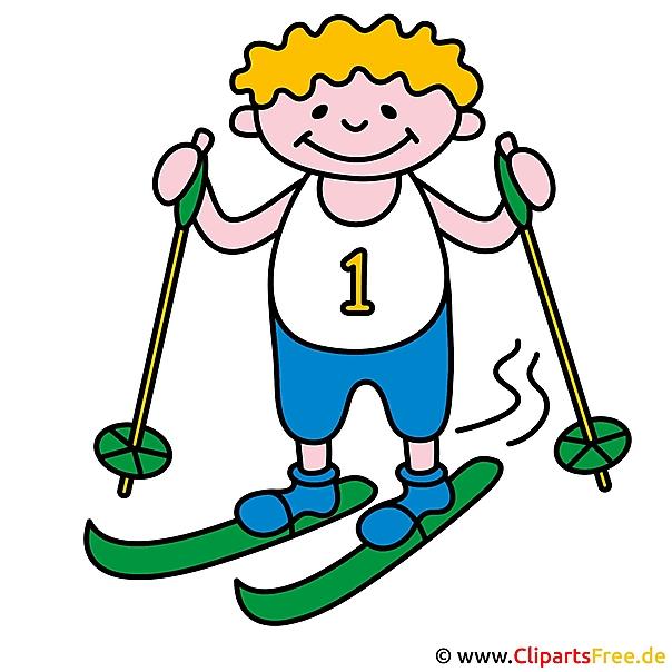 Ski Clip Art gratis