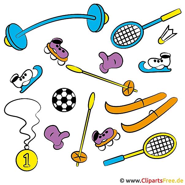 Sports Clip Artを無料でダウンロード