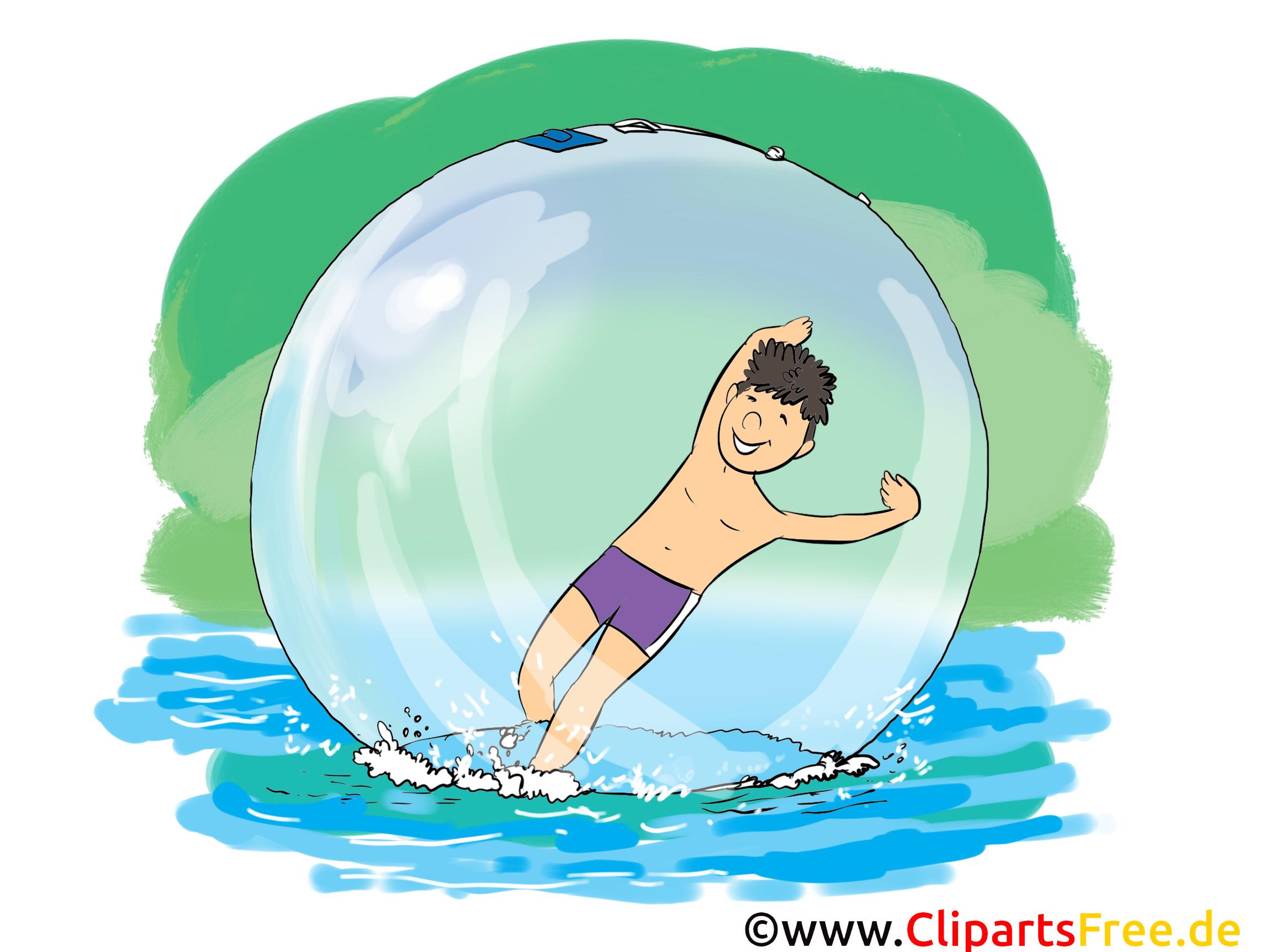 水漫画、クリップアート、イメージ、コミック、イラストの上を走る