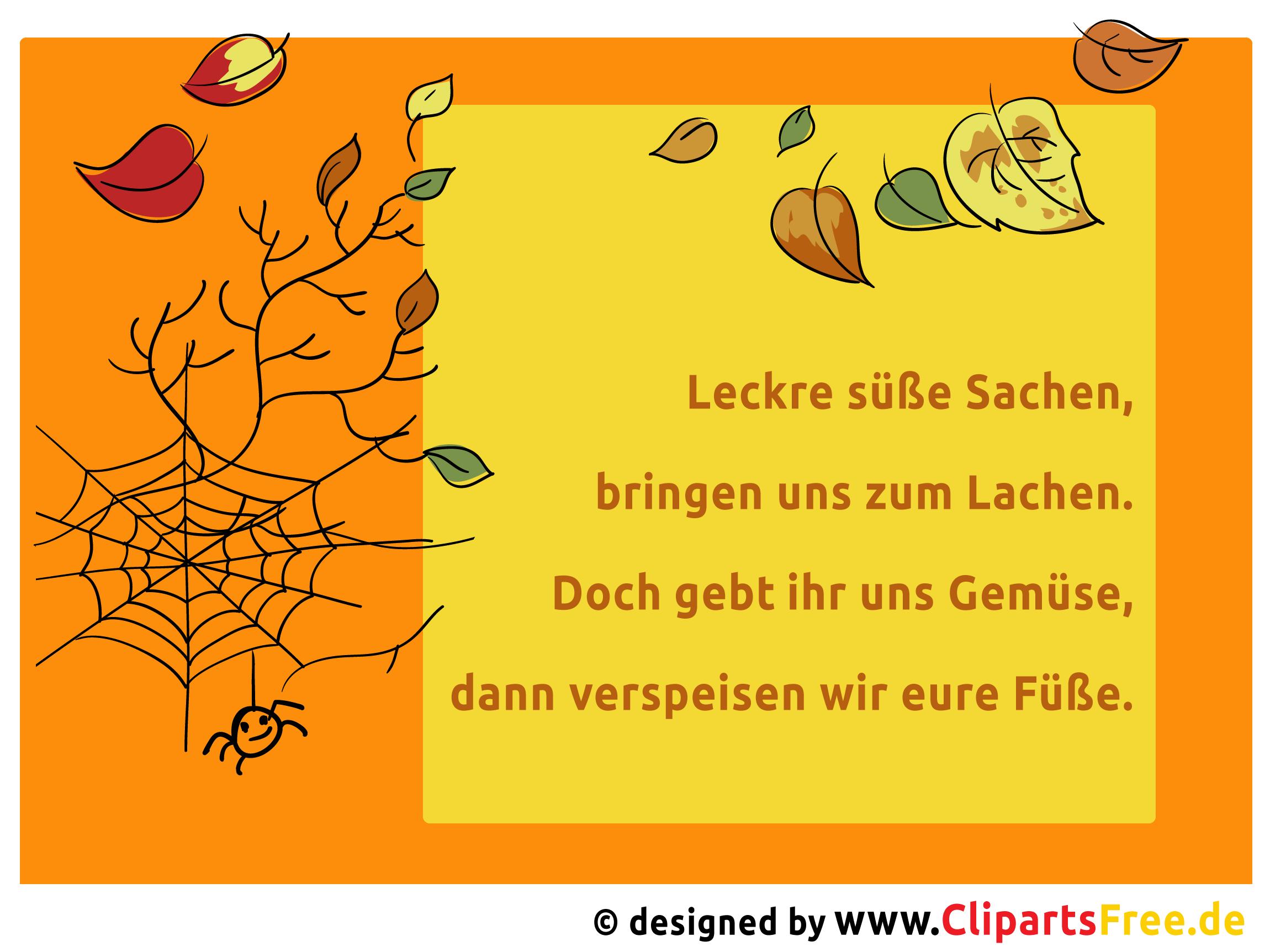Halloween Lustige Gedichte Sprüche
