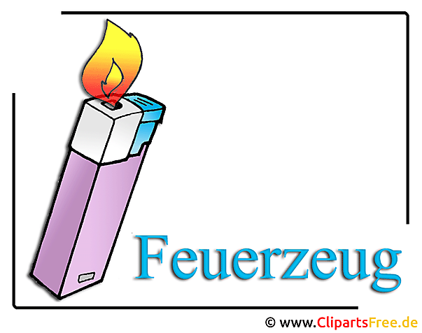 feuerzeug clipart bild free. Black Bedroom Furniture Sets. Home Design Ideas