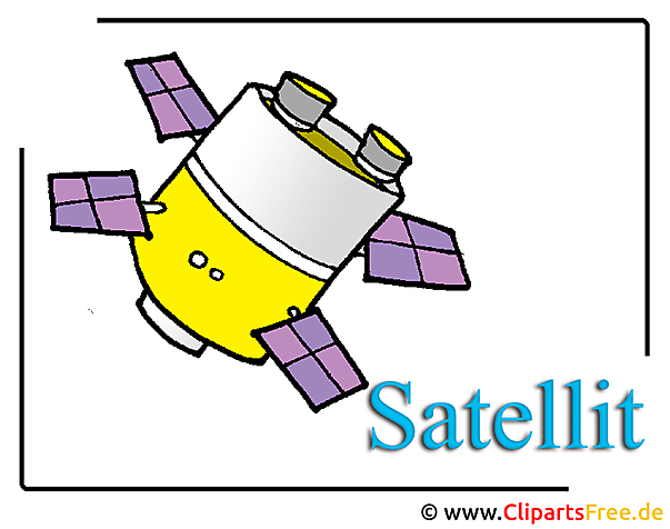 Satellit Clipart Space free