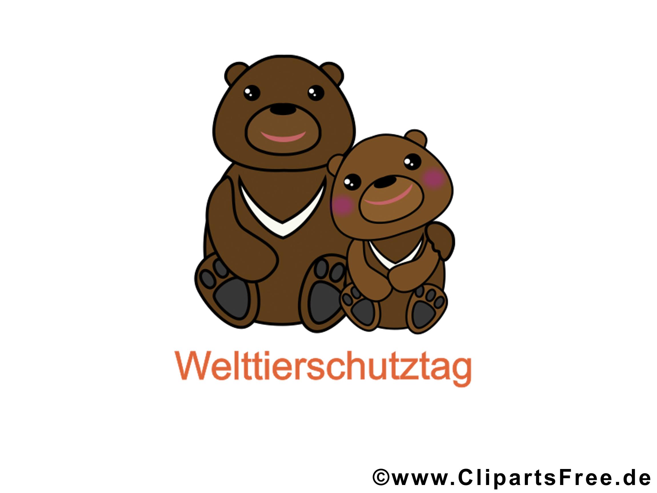 Bilder Cartoons kostenlos zum Welttierschutztag