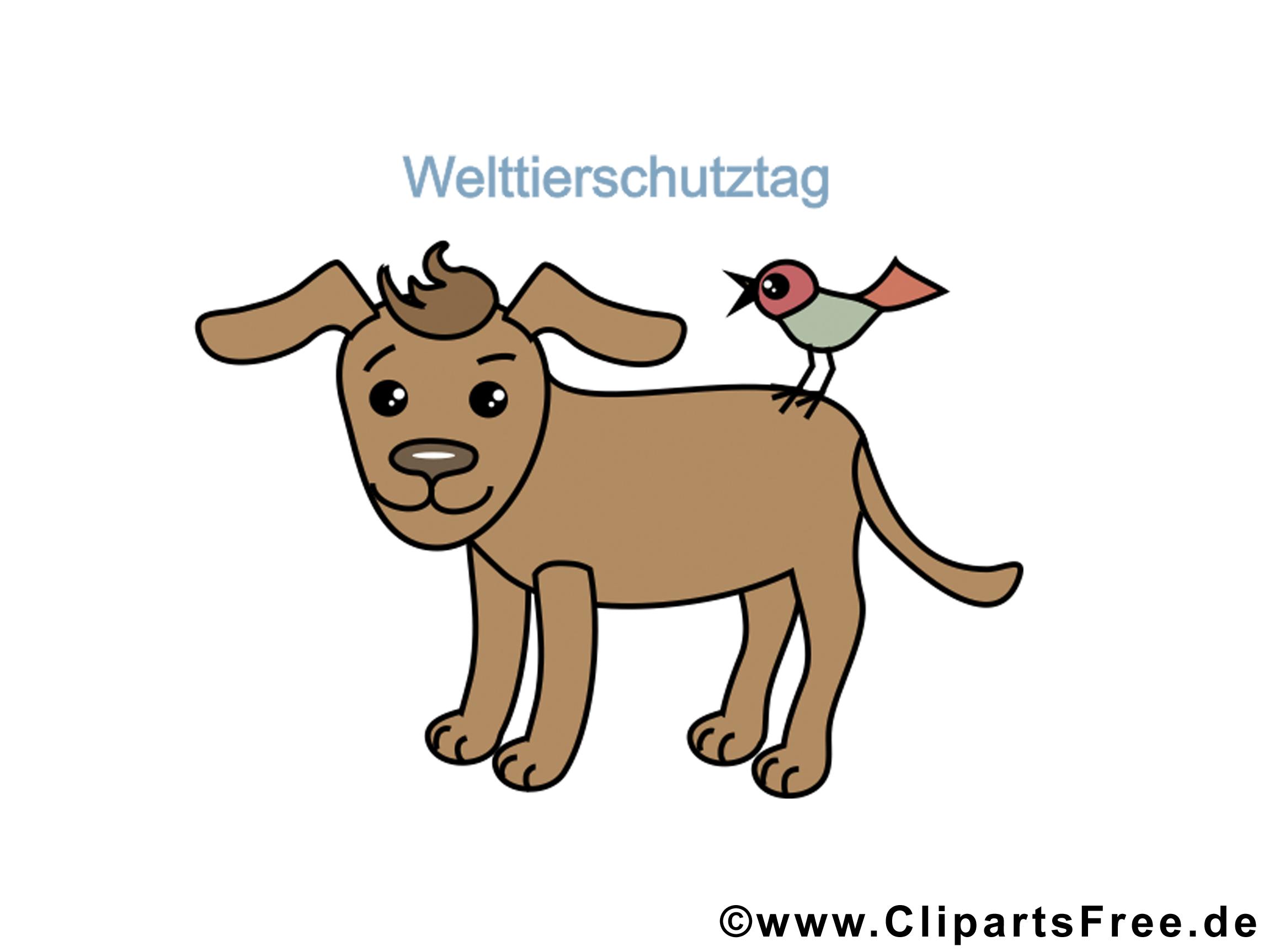 Clipart Sammlung kostenlos zum Welttierschutztag
