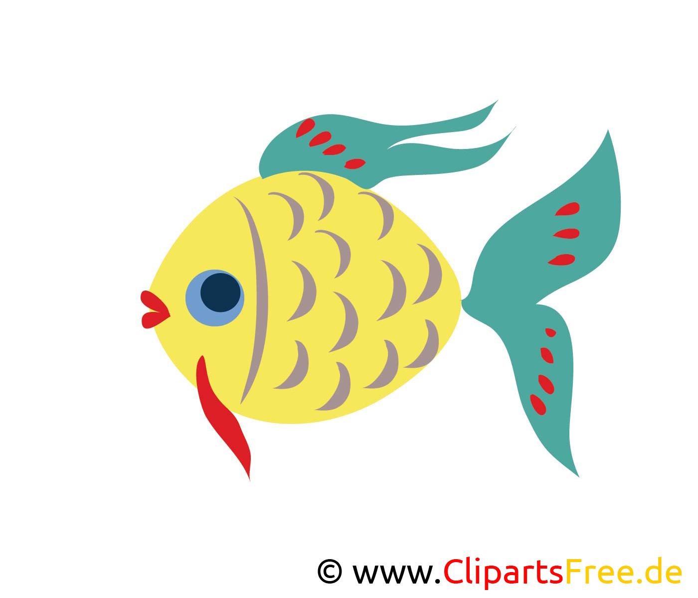 Fisch clipart  Fisch Grafik kostenlos