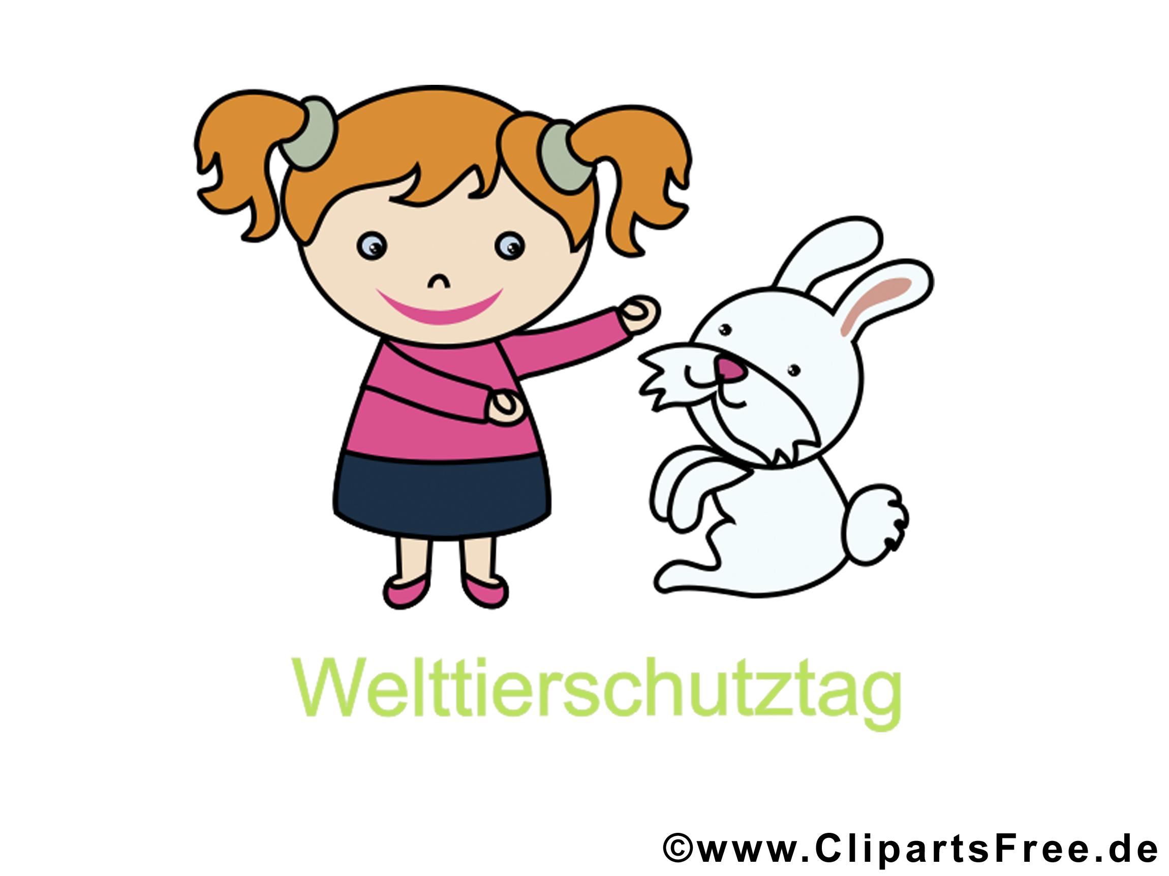 Free Clip Art zum Welttierschutztag