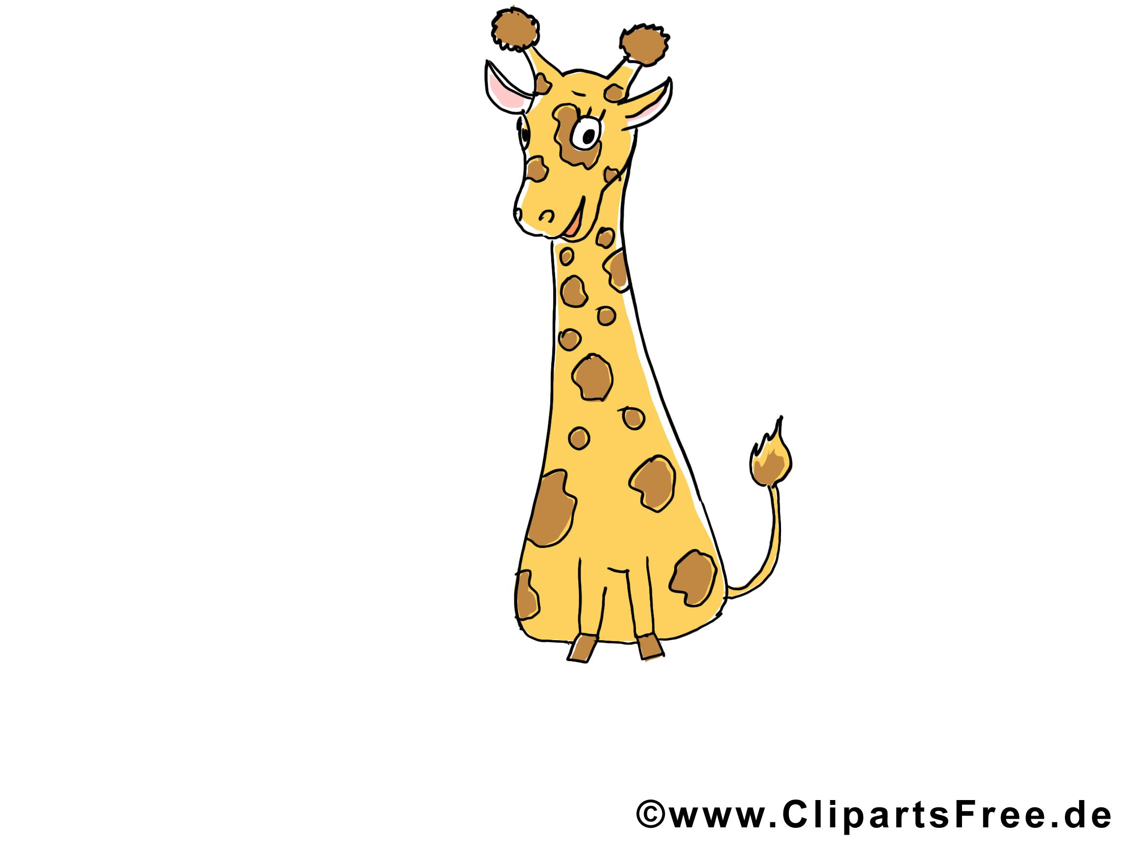 Giraffe Clipart - Cliparts Zoo