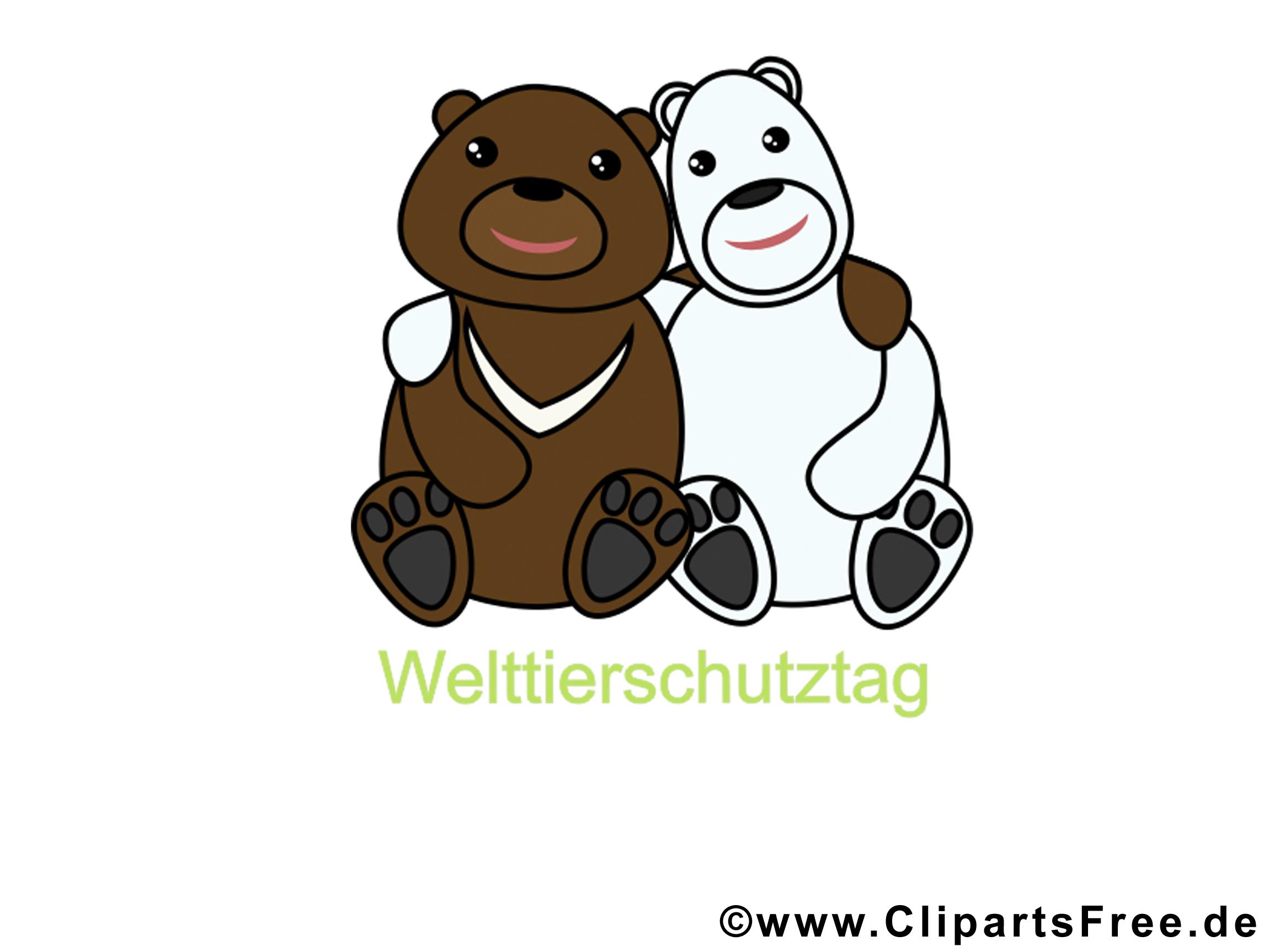 Gratis Clip Art zum Welttierschutztag