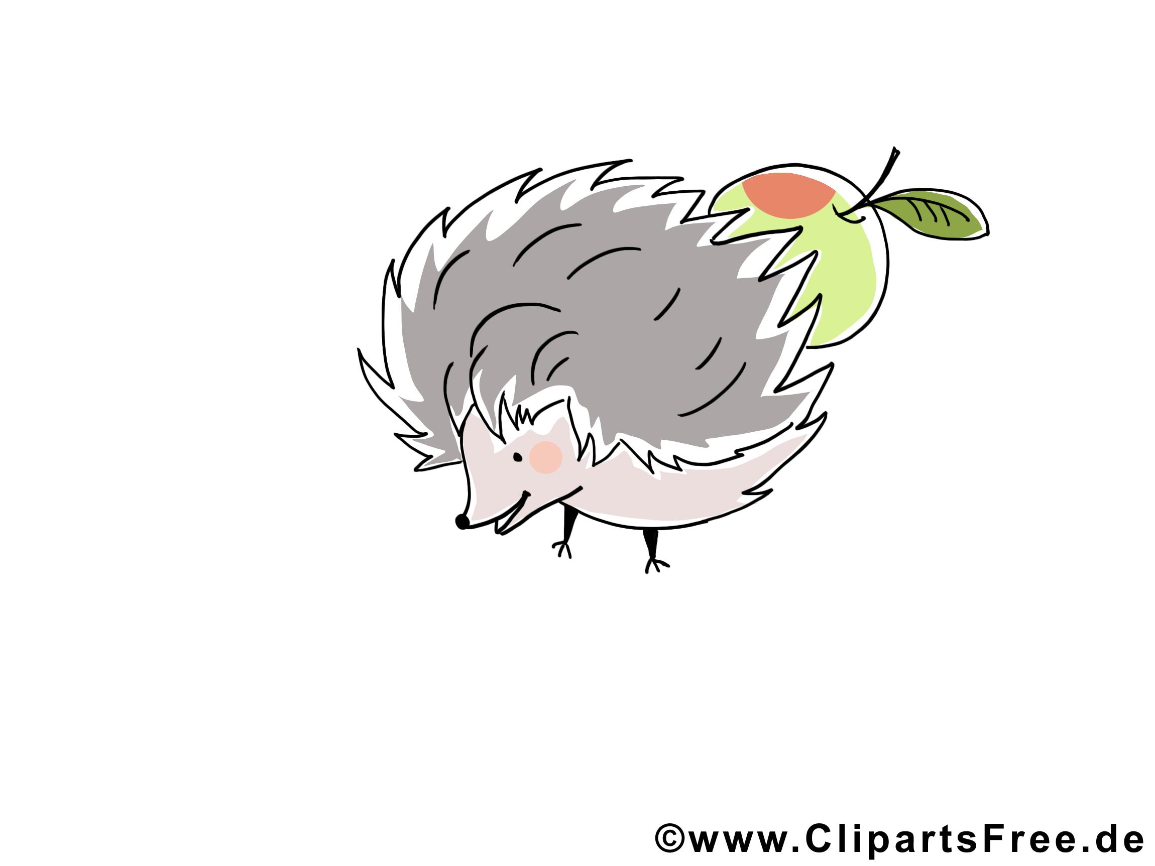 Igel bild clipart illustration grafik kostenlos - Grafik weihnachten kostenlos ...