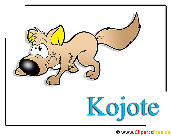 Coyote Clipart Zoo