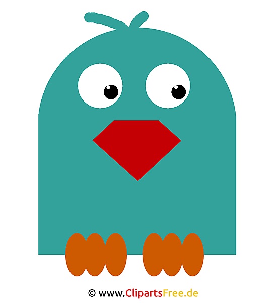 Papagei Clipart kostenlos