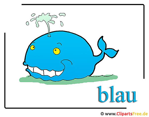 Wal Cartoon Clipart Bild free