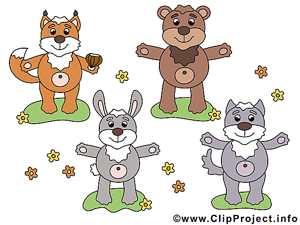 Waldtiere Clipart