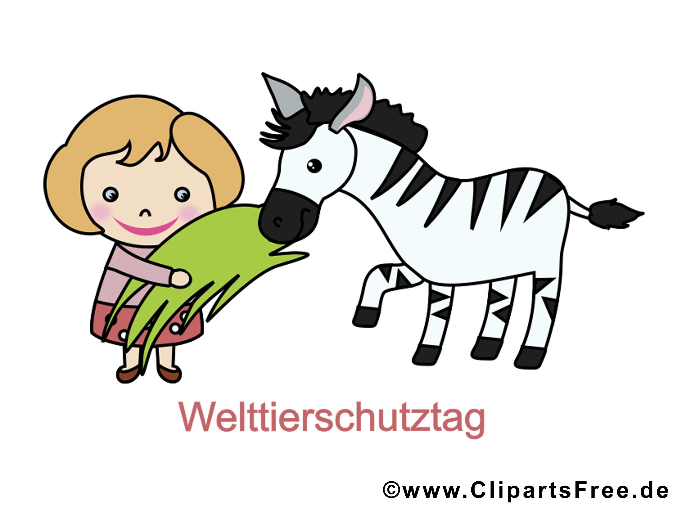 Welttierschutztag Bild, Clipart, Image, Cartoon