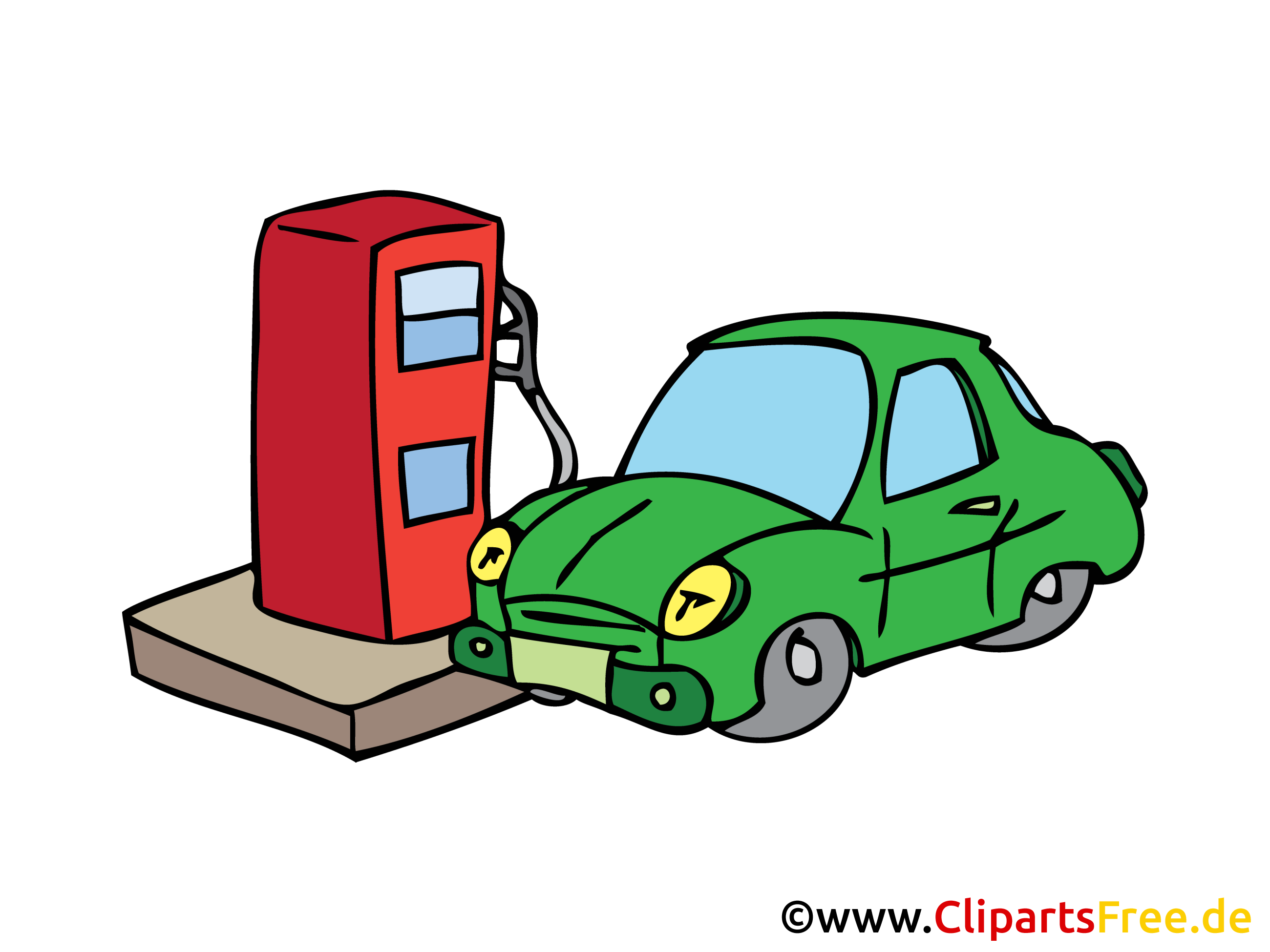 clipart auto tanken - photo #1