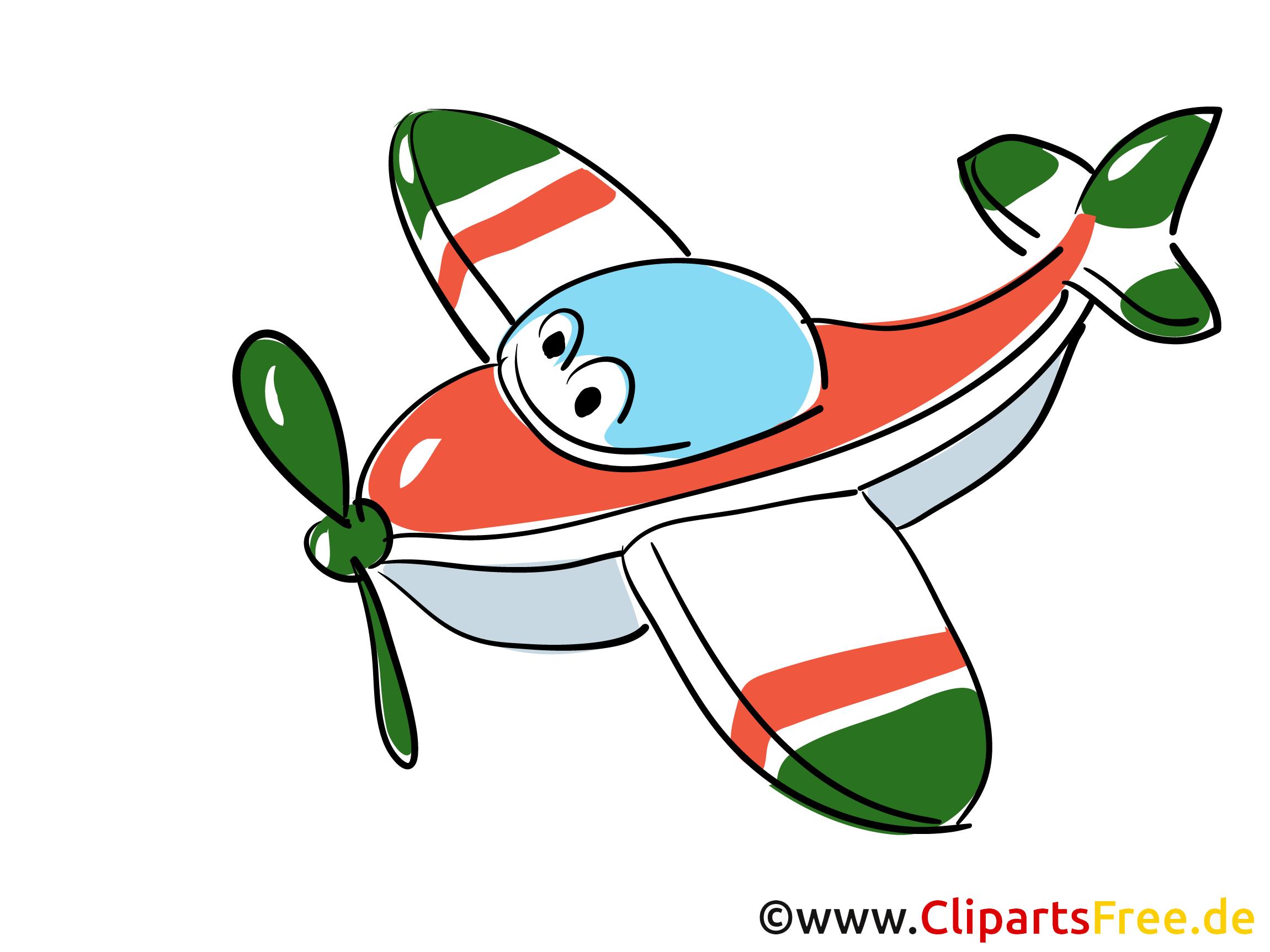Clipart Flieger kostenlos