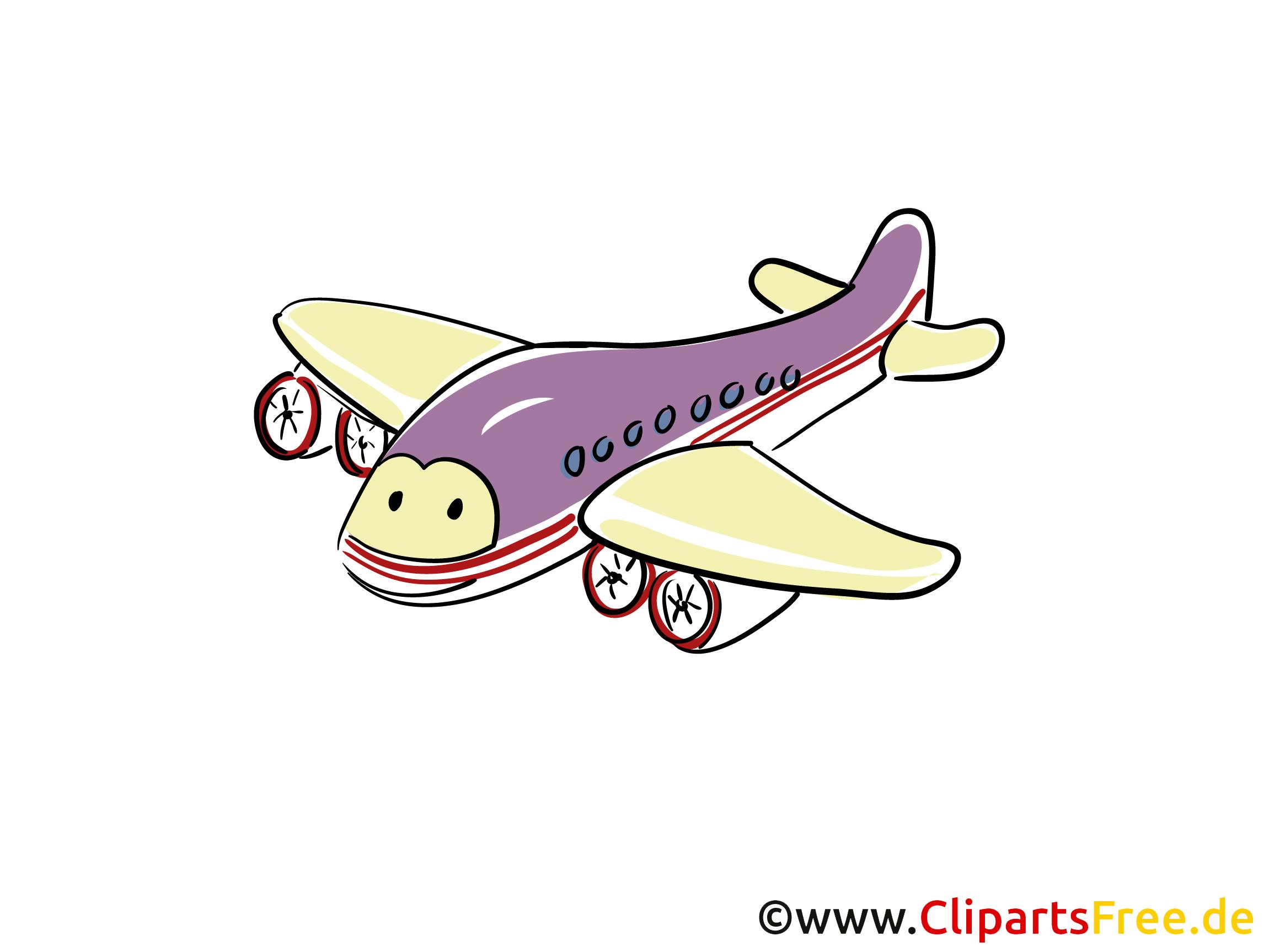 Düsenflugzeug Clipart und Illustrationen