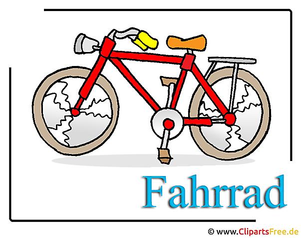 Fahrrad Clipart-Bild HD