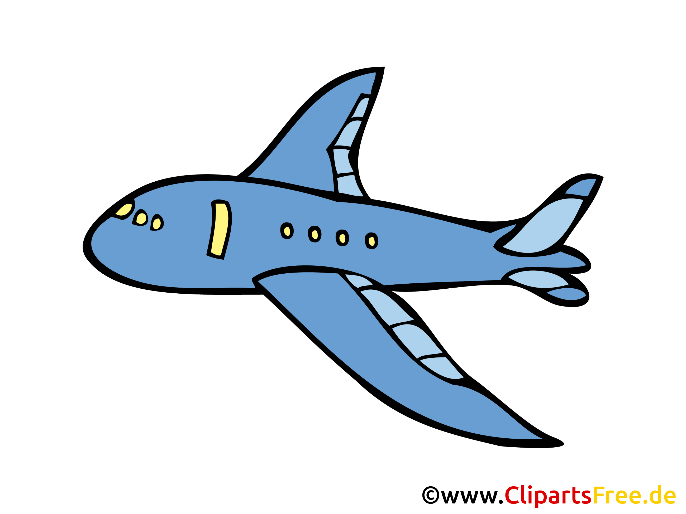 cartoon flugzeug