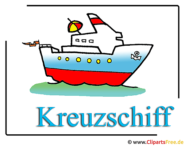Kreuzschiff Clipart Bild free