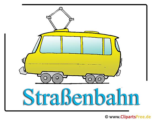 Strassenbahn Clipart free Transport