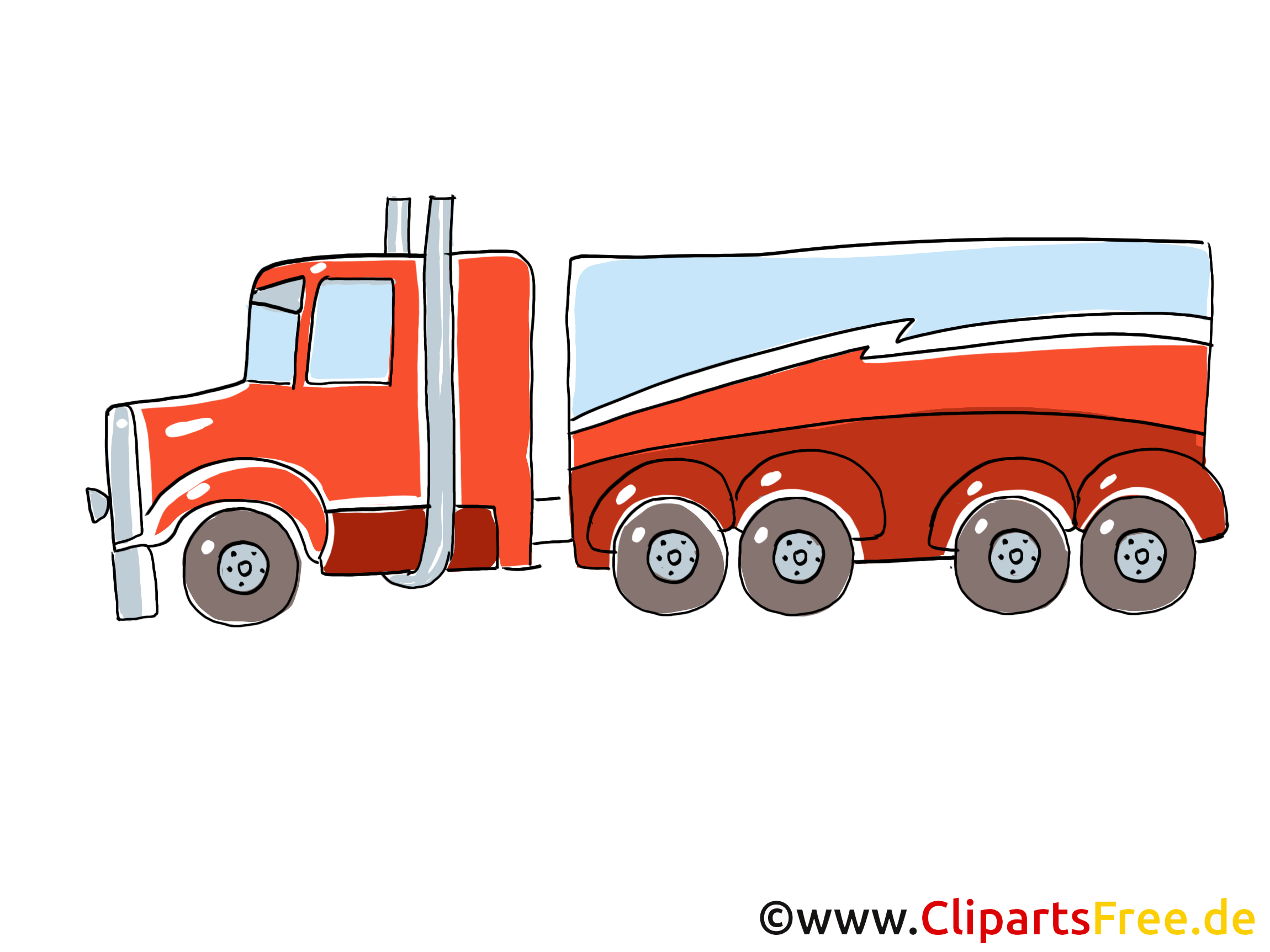 Truck Clip Art, Pic, Image free