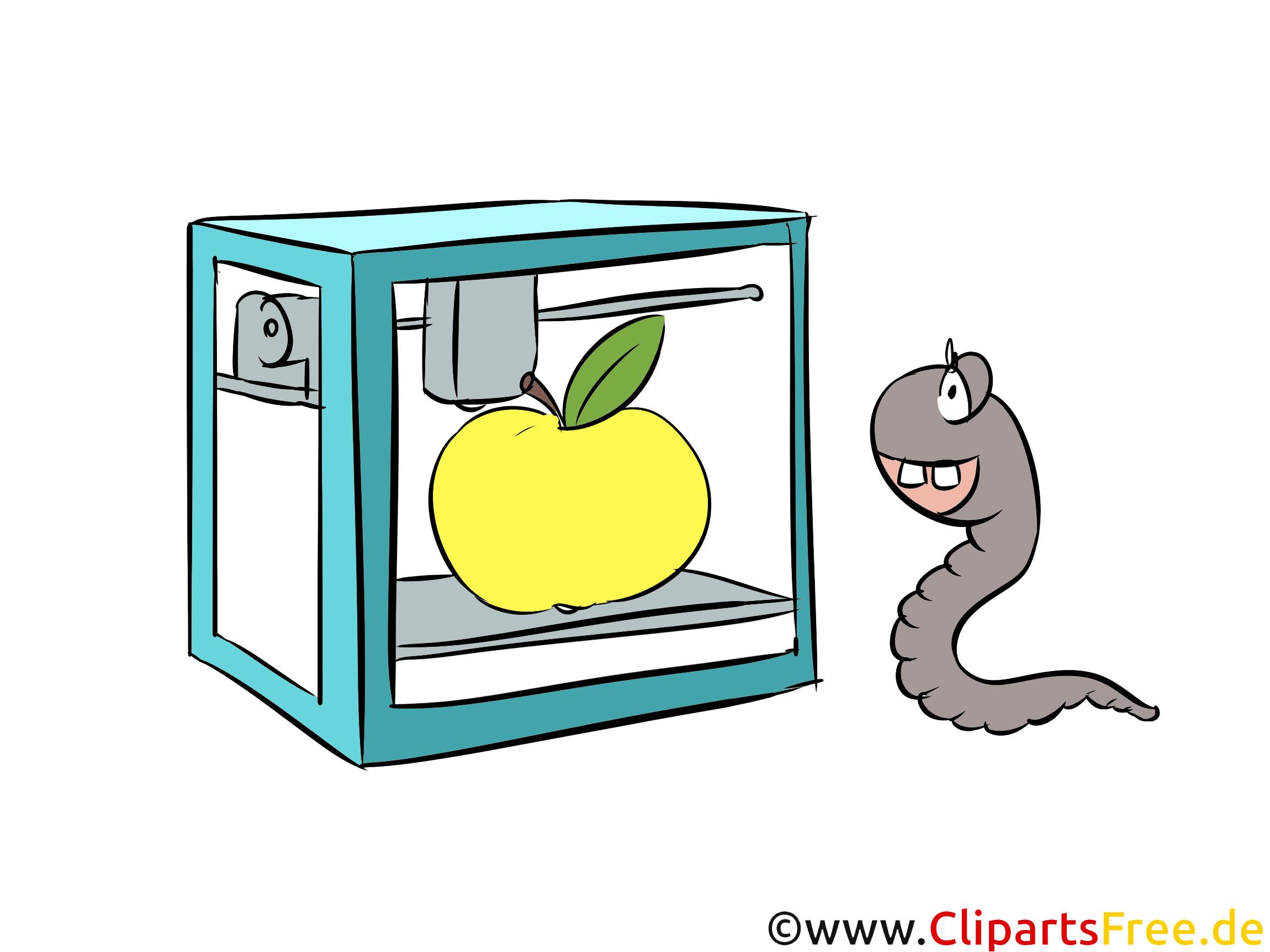 3D-Foodprinter Illustration, Clip Art free
