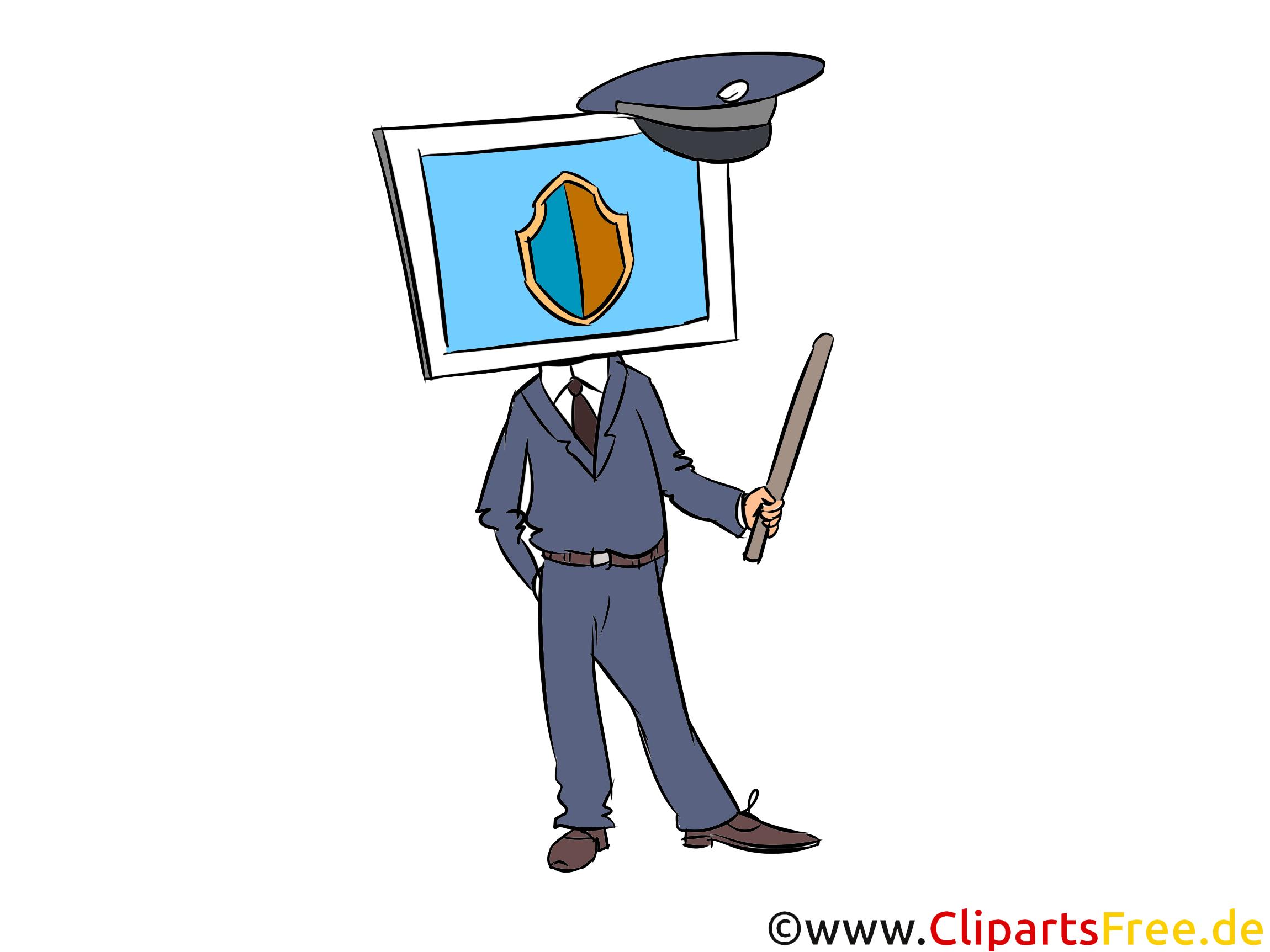 Clipart Computersicherheit kostenlos