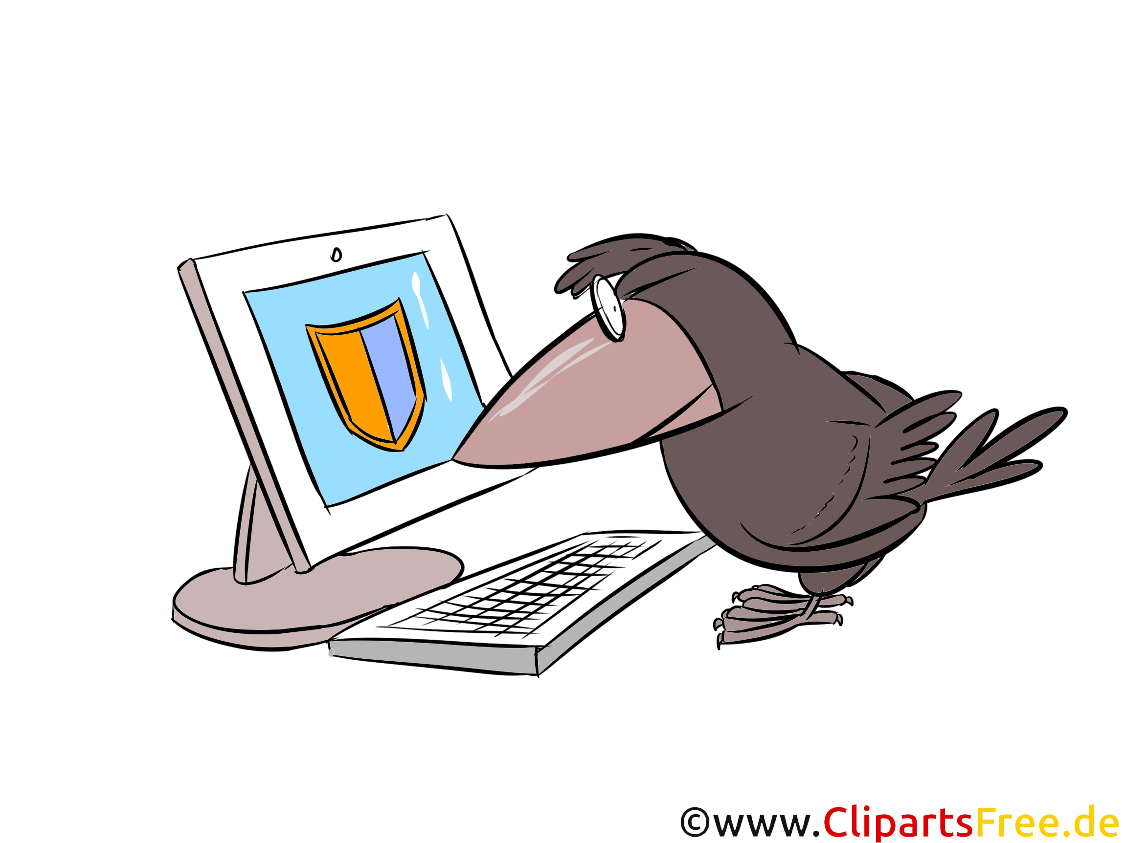 Information Security Clip Art, Illustration free