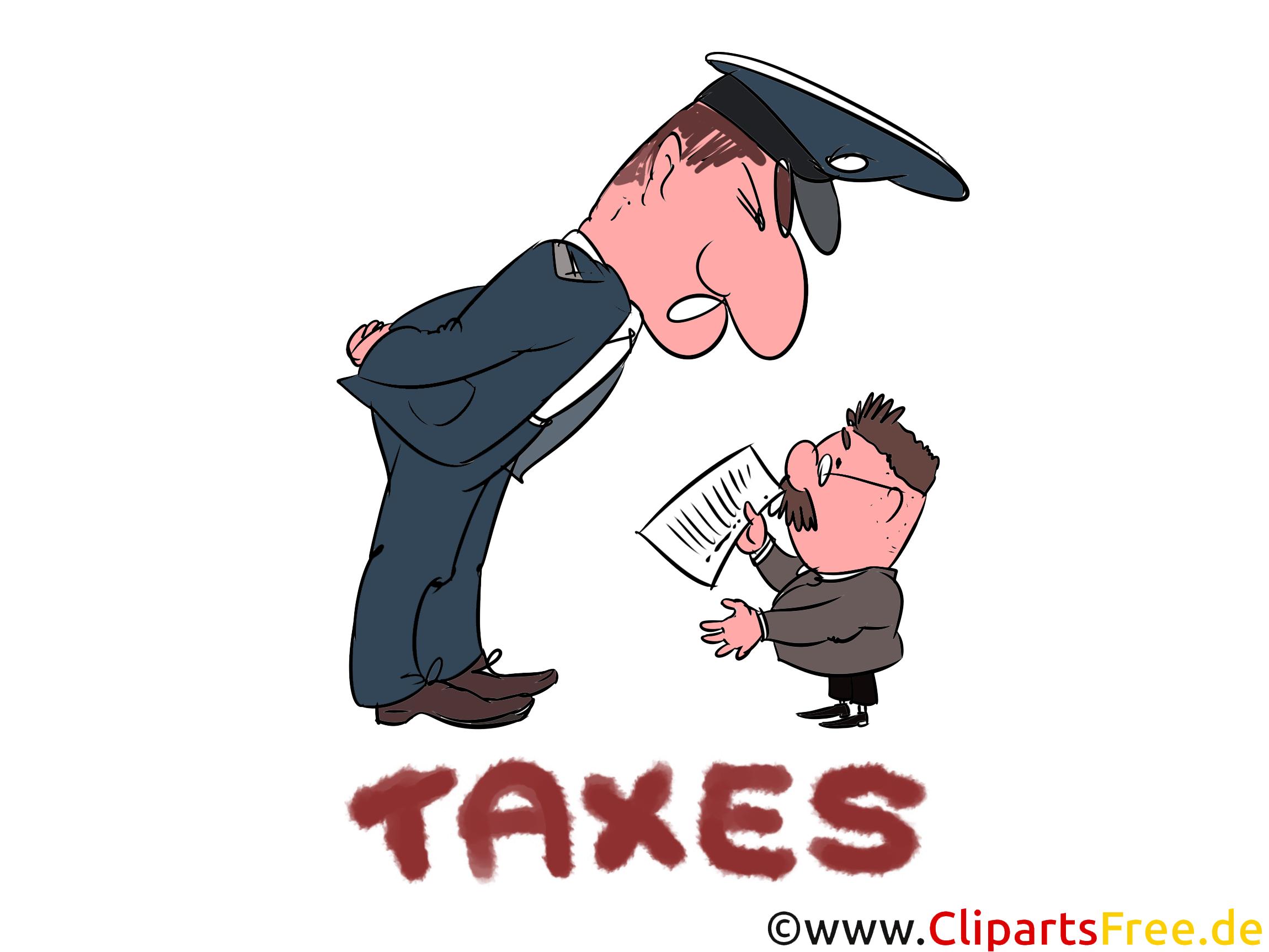 Finanzamtmitarbeiter Cliparts, Bilder, Illustrationen gratis