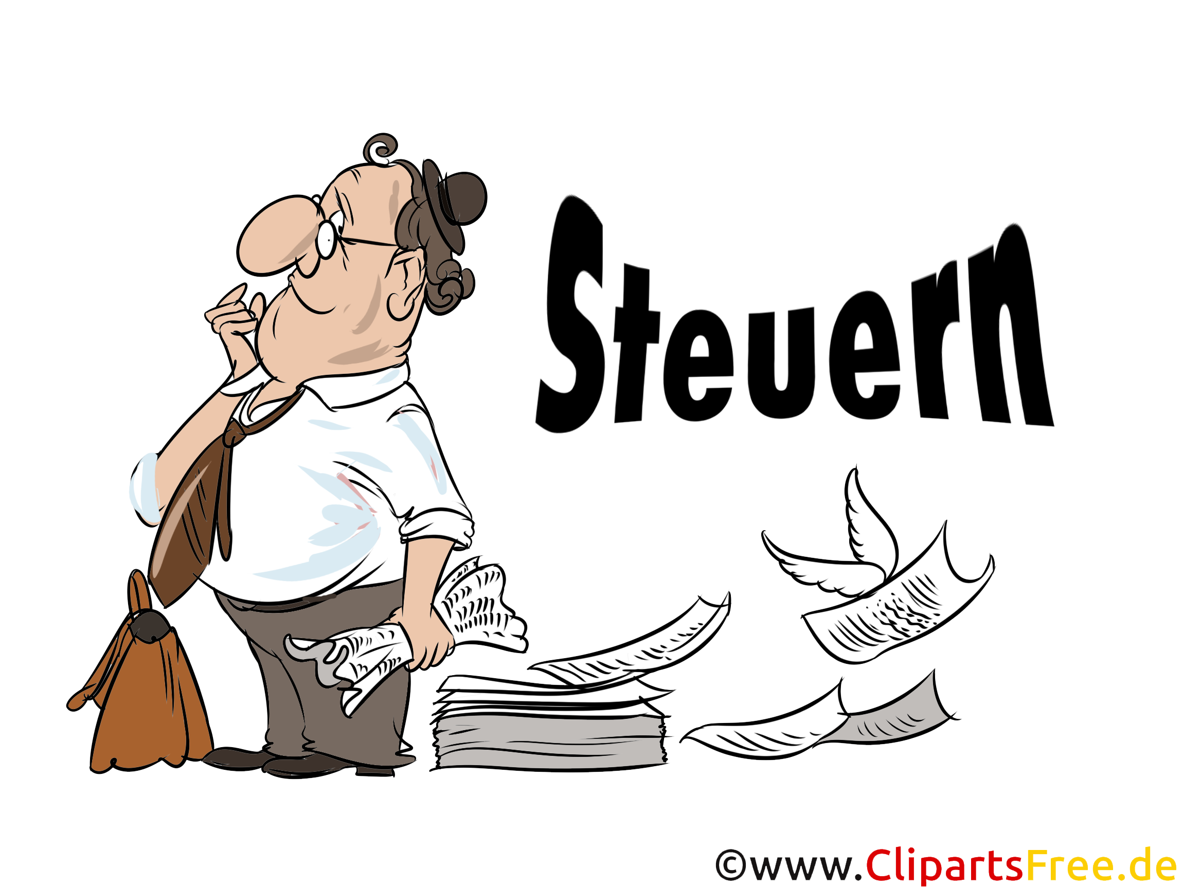 Steuern Clip Art und Illustrationen