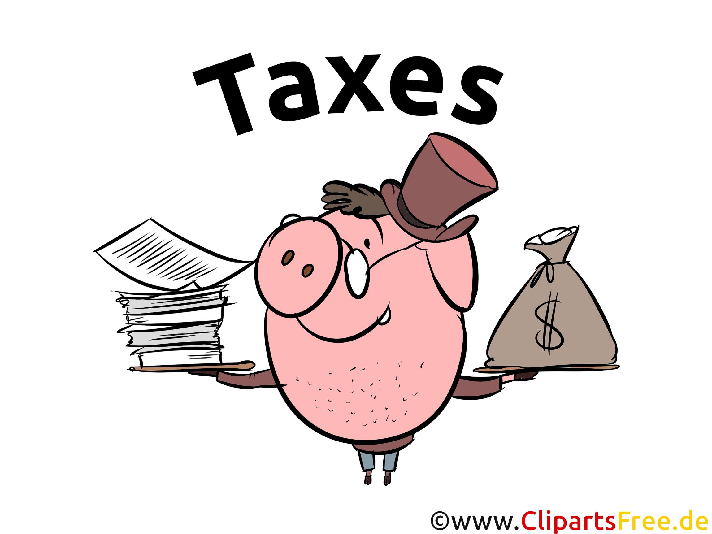 Tax Clip Art Free