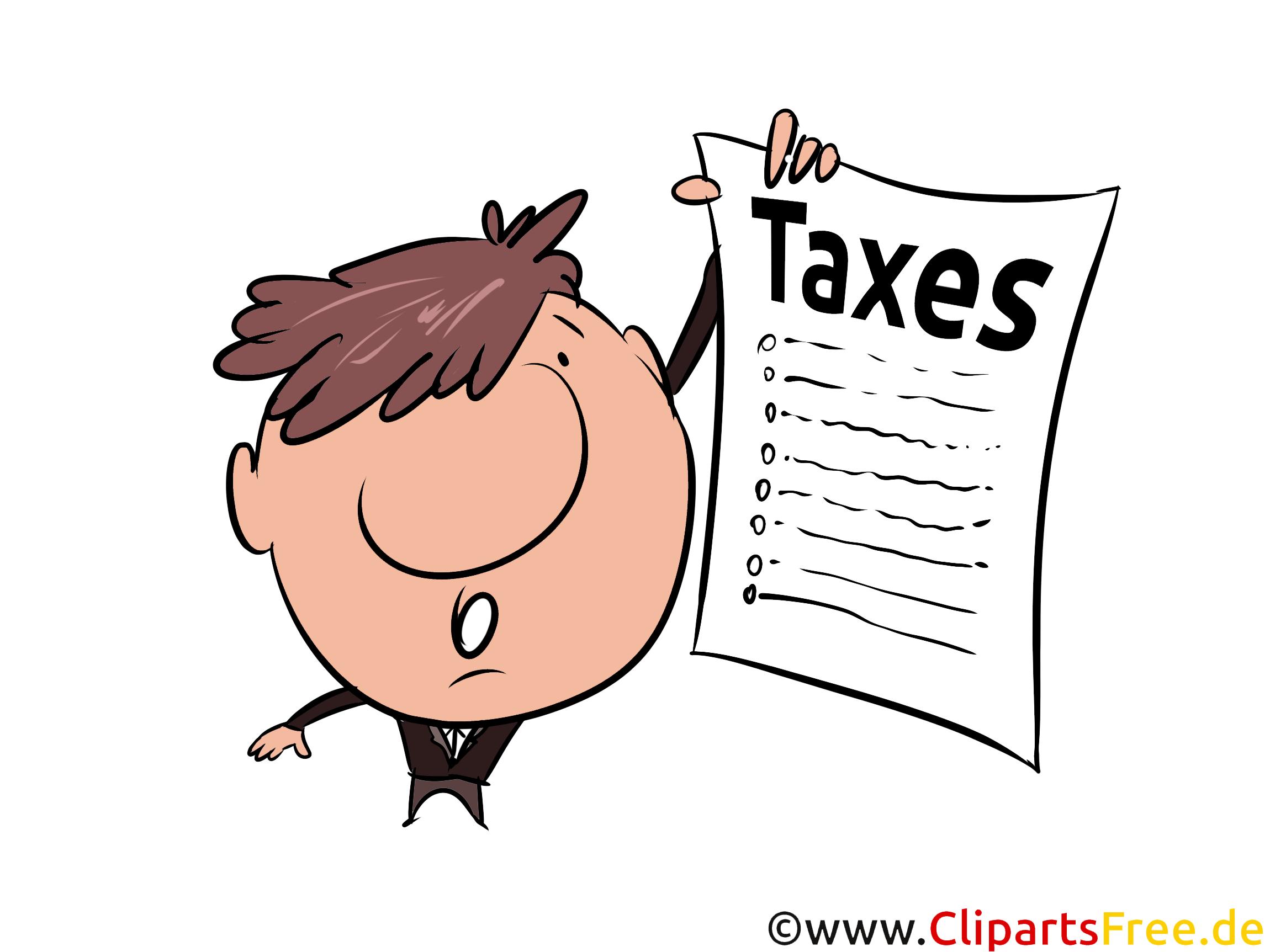 Umsatzsteuererklärung Cliparts, Bilder, Illustrationen gratis