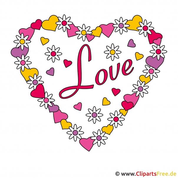 Cliparts Valentinstag
