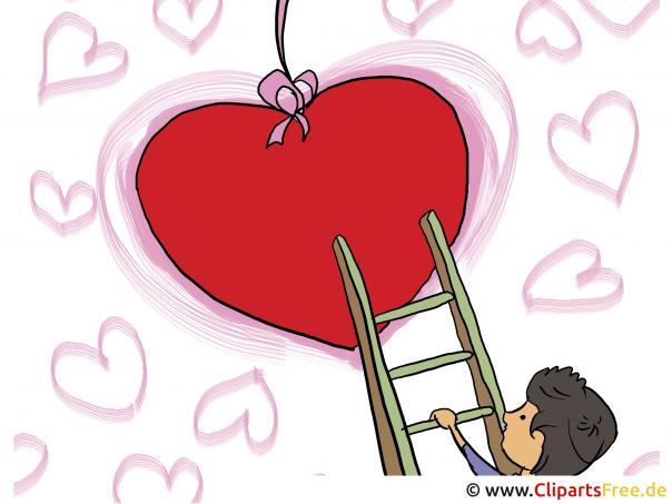 Valentinstag Bild kostenlos zum Drucken