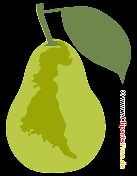 Birne Clipart - Grafik SVG