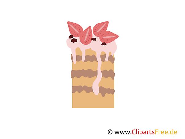 Kuchen aus Bäckerei Clipart, Bilder, Grafiken gratis