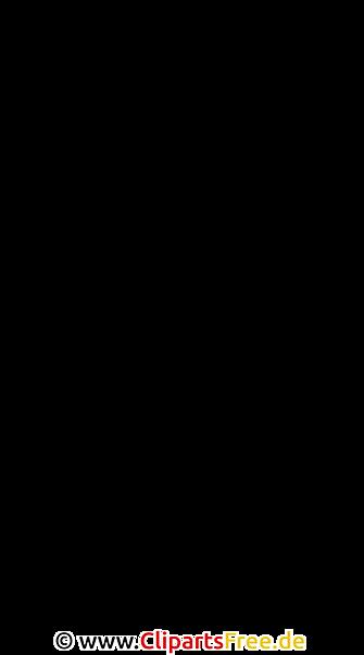 Stuhl Vektorbild Clipart SVG
