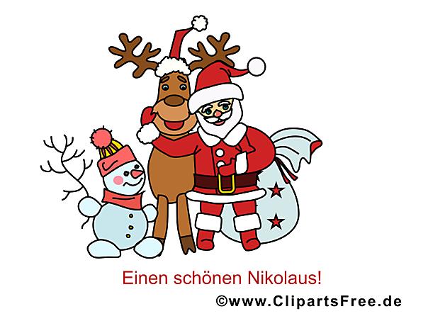Ausmalbilder Zum Nikolaus : Weihnachtsbilder Bilder Cliparts Gifs Illustrationen Grafiken