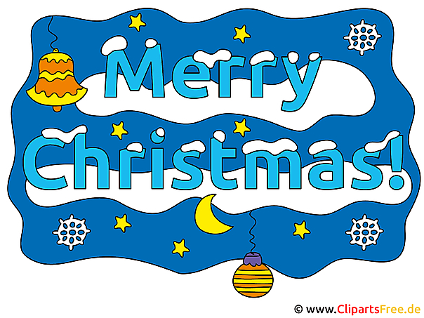 Cliparts Merry Christmas